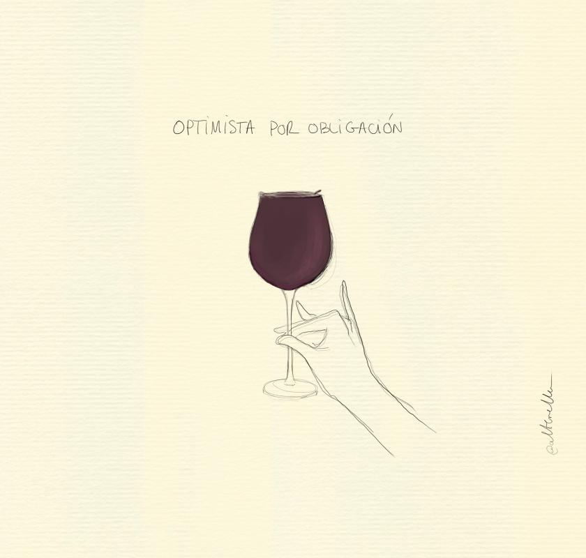 optimista vino relaciones soltera