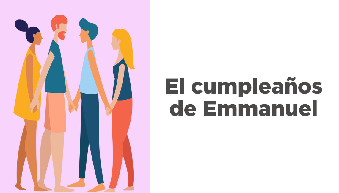 El cumpleaños deEmmanuel